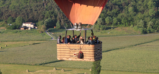 Balloon Rides From Reims France