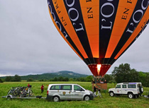 Balloon & e-Bike in Provence !